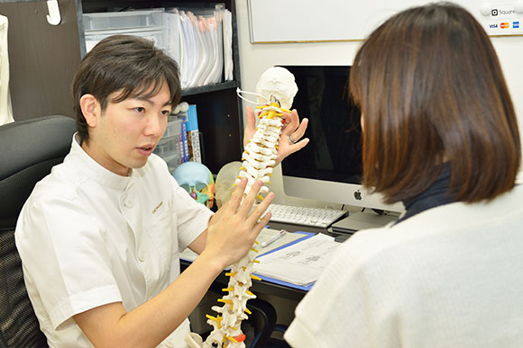 松戸 整体 AS療法の流れ3