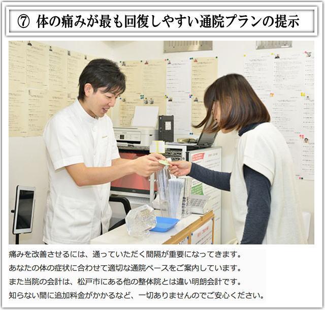 松戸市猫背矯正施術7