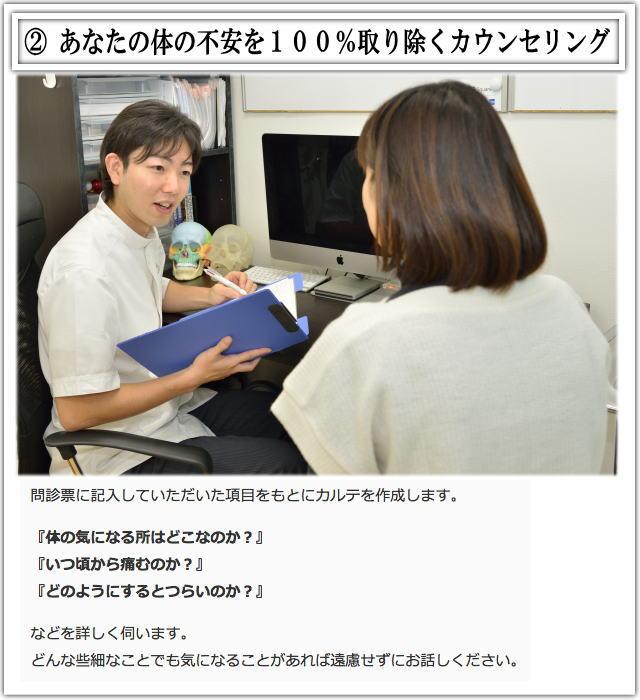 松戸市猫背矯正施術2