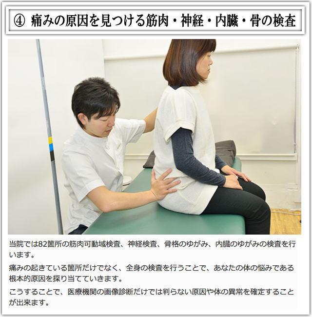 松戸市猫背矯正施術4