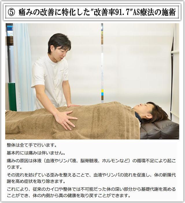 松戸市産後骨盤矯正施術5