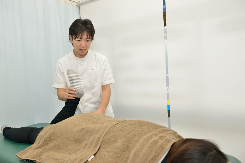 当院の特徴は、整形外科でもわからない、腰痛の根本原因を探して施術してくれること