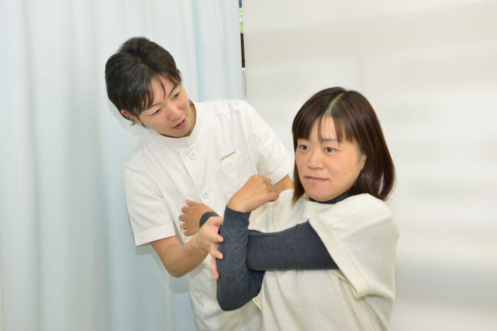 当院の特徴は、肩こり患者様を院長が診ていることろ
